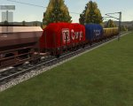 Some of the freight wagons