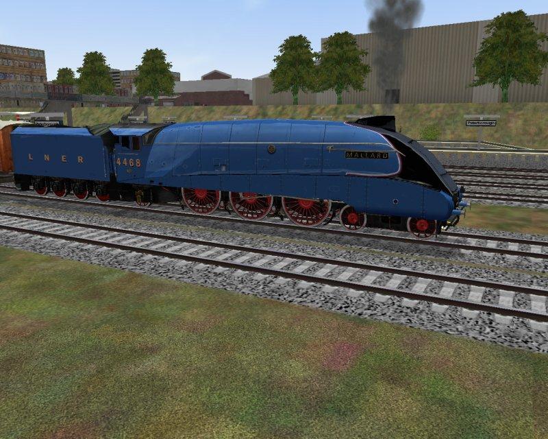 Related Pictures the mallard steam trainMallard Train Toy