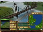 Here we have spanned a bridge across the English Channel (the game does do tunnels, but only through hills).