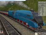 The LNER A4, my favourite steam loco looking wonderful in Trainz