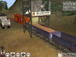 Now we get to the lumber mill and as you can see, woodchips flow freely in to the wood chip wagons.